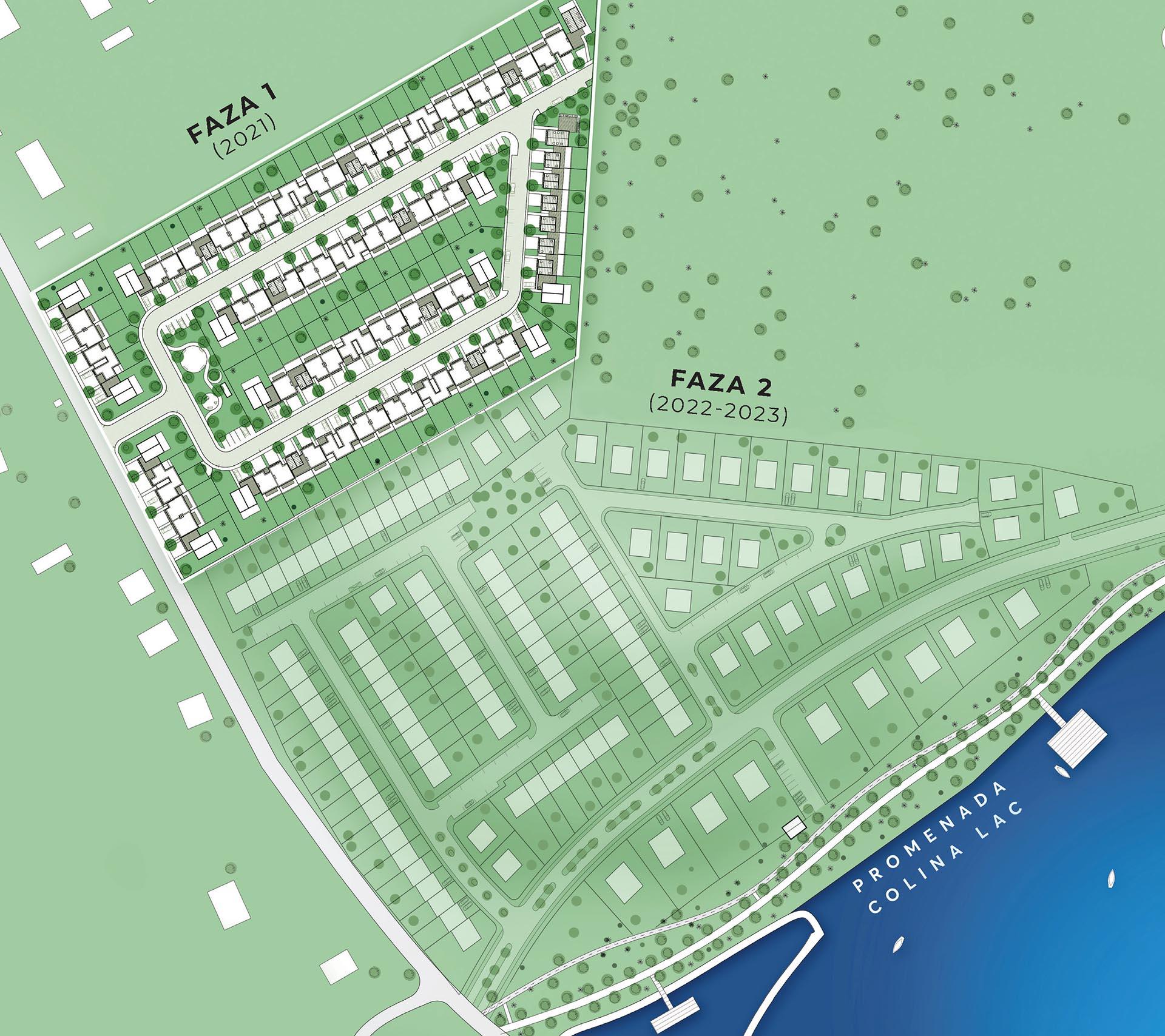 Colina Lac - Localizare Proiect